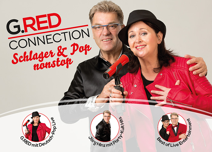G.RED - CONNECTION  präsentieren Schlager & Pop nonstop!